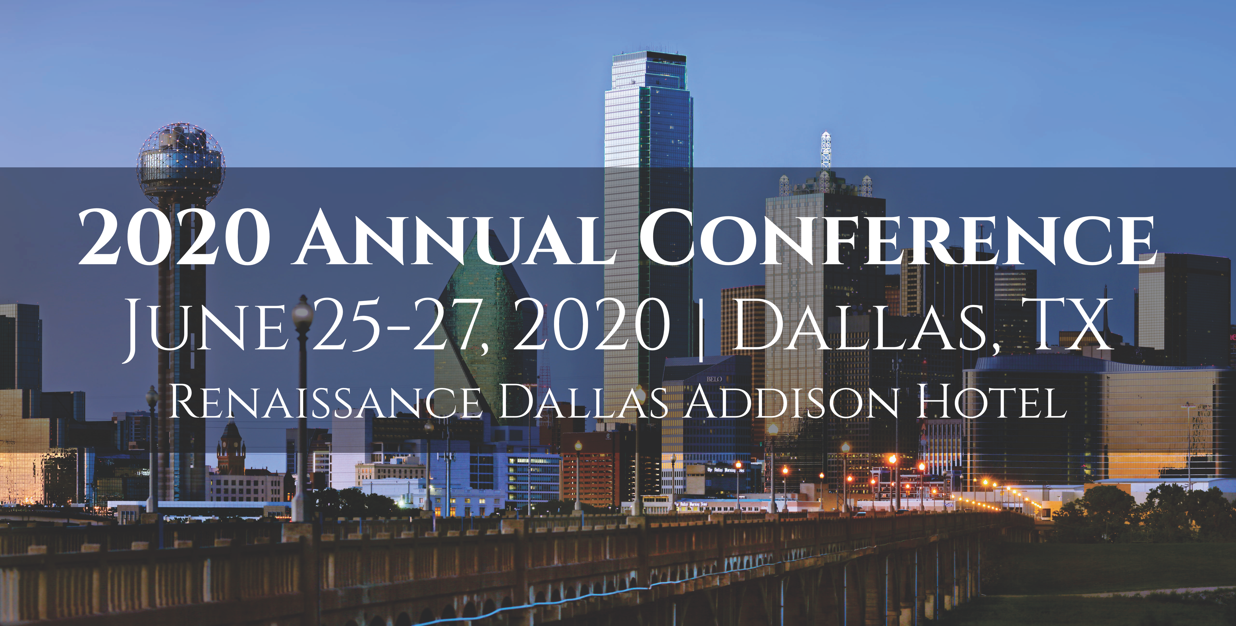 2020 Conference Banner